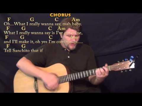 Santeria Sublime Reggae Guitar Cover Lesson In E With Chordslyrics