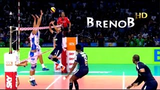 Watch it in HD! ► TOP 10 Best Brazilian Men's Superliga Actions in 2016/2017!● Check out the best men's brazilian superliga actions in 2016/2017 according to my thoughts! It's showing some incredible volleyball actions made by the some of the best men's players in the world at the brazilian men's Superliga! ;) Check out the actions' descriptions bellow:TOP 1 - An unbelievable 3rd meter spike by the Cuban, Yoandy Leal!TOP 2 - A stunning volleyball set by the magician, William Arjona!TOP 3 - A phenomenal volleyball foot save by Bruno Rezende!TOP 4 - A huge 3rd meter spike by the Cuban star, Yoandy Leal!TOP 5 - A monster single block by Renan Buiatti on Lucas Lóh!TOP 6 - An incredible save by the Sada Cruzeiro libero, Sérgio Luiz!TOP 7 - Yoandy Leal crushed the ball on Thiago Gelinski with a huge spike!TOP 8 - An incredible play combination between Lucas Saatkamp and Bruno Rezende!TOP 9 -  Luan Weber crushed the ball down the line with a huge 3rd meter spike!TOP 10 - A huge single block by Bruno Rezende on Thiago Vanole!► Support me!● Follow me on Instagram: @brenobuzin ● Follow me on Vimeo: https://vimeo.com/user25133694 ● Follow me on Facebook:https://www.facebook.com/volleyballaddict1.0♫ Song: Lytuain - Uptobrain!● Breno Buzin - JUST PLAY IT!