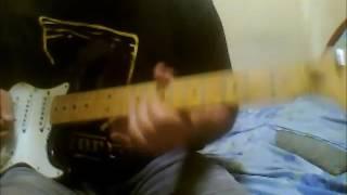 Dari jauh ku pohon maaf guitar cover ( rock raya)