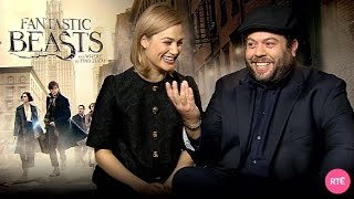 Dan Fogler & <b>Alison Sudol</b> Talk Fantastic Beasts And Where To Find Them