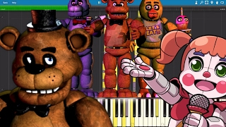 Video IMPOSSIBLE REMIX - FNAF Medley - The Living Tombstone MP3, 3GP, MP4, WEBM, AVI, FLV Agustus 2018
