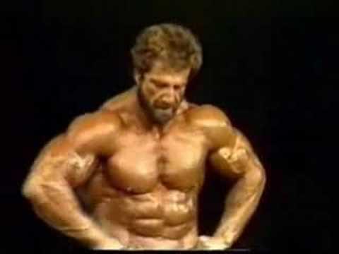 Юсуп Вилкош на Mr. Olympia 1984
