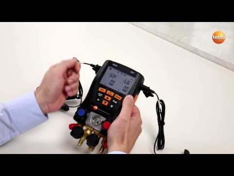 testo 557 - Step 3 - How to Change The Display