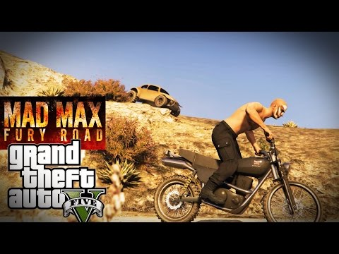 A Mad Max Car Chase Recreated In GTA V