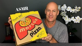 ASMR Eating Pizza and Chips~Soft Spoken