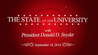 2014 State of the University Address