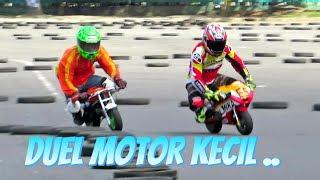 Pocket bike racing Duel/ Mini bike 50cc: Balap Motor Mini GP 50cc Paling Seru, pocket bike indonesia. Sponsered by Lenka , event di mandala krida Jogjakarta Indonesia.