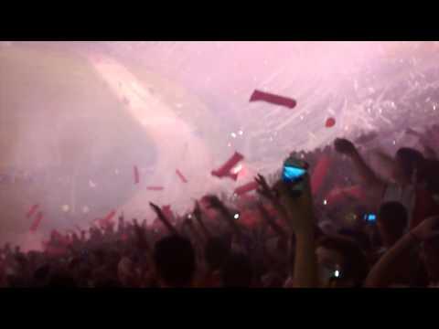 RECIBIMIENTO HISTORICO - Superclasico Copa Sudamericana 2014 - Los Borrachos del Tablón - River Plate
