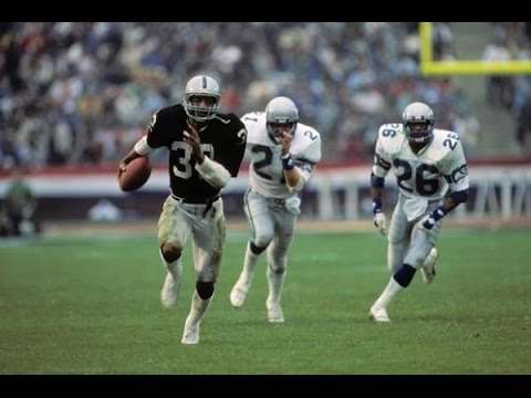 Raiders Seahawks wild 1983 AFC title game