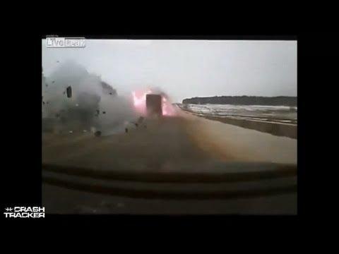 Składanka z wypadkami samochodowymi