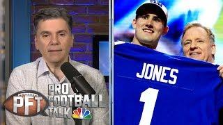 Were other teams set to draft Daniel Jones before 17? | Pro Football Talk | NBC Sports