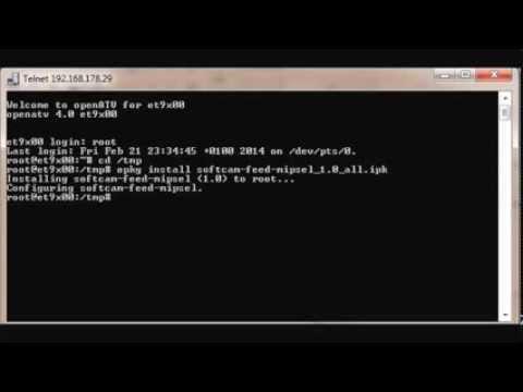 comment installer tspanel dreambox