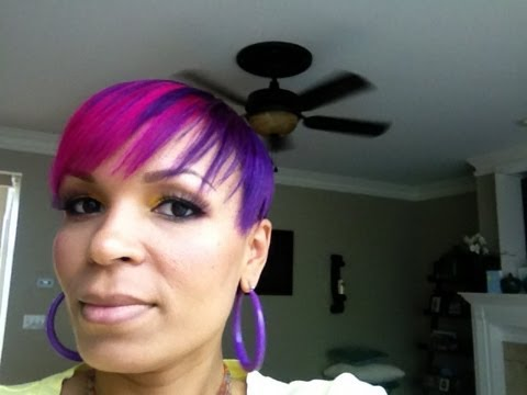 Pink and Purple Hair (Manic Panic)