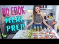 NO COOK MEAL PREP FOR THE WHOLE WEEK!🌿Rawvana