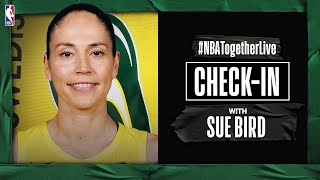 #NBATogetherLive Check-In With Sue Bird by NBA