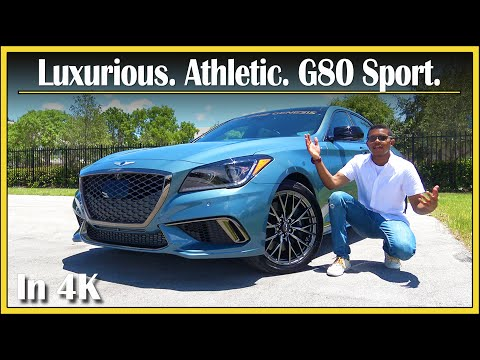2018 / 2019 Genesis G80 Sport 3.3T Review (DETAILED) | An Athletic & Luxurious Bargain? | In 4K UHD!