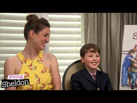 Cast of Young Sheldon attempt an Aussie accent   Young Sheldon