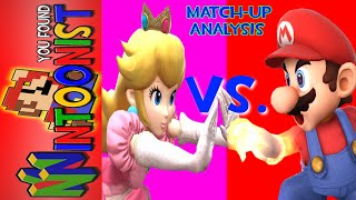 Competitive Starter Stage Guide to the Mario Vs. Peach match-up for both characters/guide to the match-up.