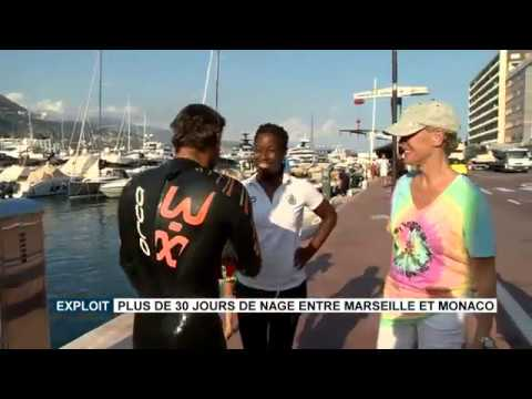 Marseille to Monaco: more than 30 days of swimming