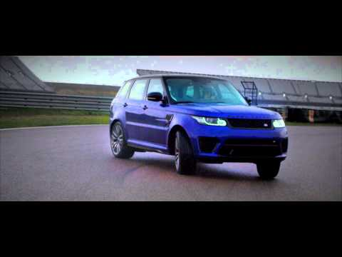 Range Rover Sport SVR Has Some Track Fun