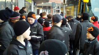 Farsta Sweden  City new picture : Getting off the bus with the Sweden Farsta Team