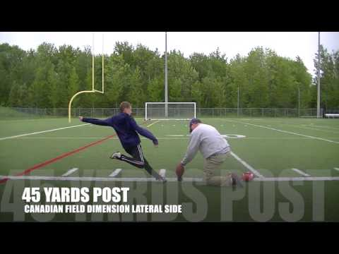 "11 YEAR OLD 45 YARD FIELD GOAL JONATHAN BEDARD ""THUNDER"""