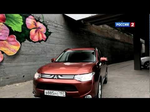 Mitsubishi Outlander Тест-драйв Mitsubishi Outlander 2012 // АвтоВести 70