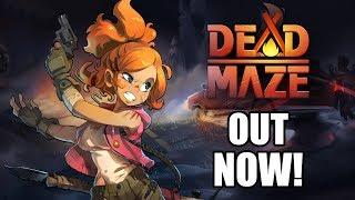Состоялся релиз MMORPG про зомби Dead Maze