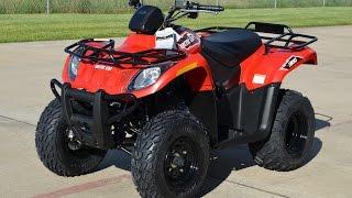 4. $4,299:  2015 Arctic Cat 300 ATV  4 Wheeler Overview and Review