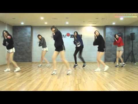 GFRIEND - Glass Bead Dance Practice Mirror Ver.