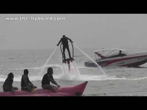 Kezdő flyboardozók