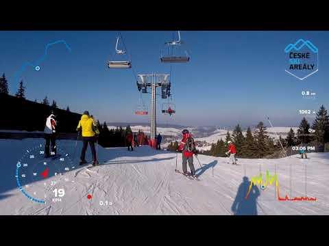 Skiareál Klínovec modrá 10