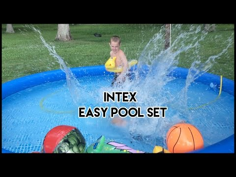 Intex  Easy  Pool 12x30  Set UNBOXING and SETUP