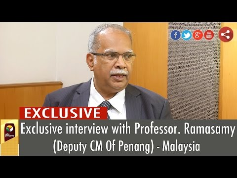 Exclusive-Interview-With-Prof-Ramasamy--Deputy-CM-Of-Penang-Malaysia-Puthiya-Thalaimurai-TV