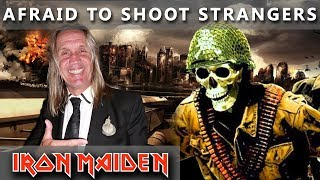 """Afraid To Shoot Strangers is a song about how shitty war is, and how shitty war is that it's started by politicians and has to be finished by ordinary people that don't really want to kill anybody (Bruce Dickinson)Don't forget to subscribe and support! - http://bit.ly/MikiMaidenMIKI MAIDEN Equipment: ▼►Yamaha Drums: Yamaha Beech CustomTom Tom 12""""Tom Tom 13"""" Flor Tom 16""""Snare Drum - Spirit Of Maiden ( Limited Edition ) 14""""Bass Drum pedal - DW 9000Hi- Hat Stand - DW 5000►Remo Drumheads:Bass - Evans eq4 Snare - Front - Remo Cantrolled Sound CoatedSnare - Back - Remo Ambasador Hazy Snare SideTom-Tom & Flor Tom - Front  -  Remo Ambasador X CoatedTom-Tom & Flor Tom  -  Back - Remo Ambasador Ebony►Paiste Cymbals:Hi-Hat - Paiste Signature Reflector Heavy Full Hi-Hat 14""""Ride - Paiste Signature Reflector Bell Ride 22"""" ( Powerslave )Crash - Paiste Signature Reflector Heavy Full Crash 17""""Crash - Paiste Signature Reflector Heavy Full Crash 18""""Crash - Paiste Signature Reflector Heavy Full Crash 19""""Crash - Paiste Signature Reflector Heavy Full Crash 20""""Crash - Paiste Signature Reflector Full Crash 16""""Crash - Paiste RUDE Crash/Ride 17""""China - Paiste Signature Reflector Heavy China 18""""DynaVox custom drum sticks - Blaz McSatler►Sound Recording:Roland - R 26 (6 Channel Digital Field)Microphone - 2x Rode NT 5 - Cardioid Studio CondenserIpod nano (space gray)►Video Recording:1x GoPro Hero 5 Black2x GoPro Hero 4 BlackIron Maiden Drum Cover  Drum solo  Drummer  Drum Set  Nicko McBrain  Best Drum CoverSpecial thanks to Wind Orchestra Zelezarjev Ravne for help and support ►http://bit.ly/zelezarjiPeace out ☮"""