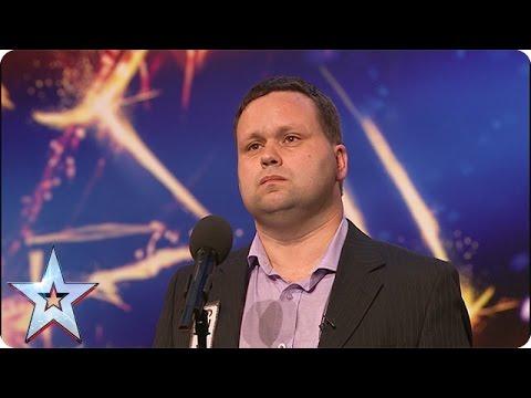Paul Potts stuns the judges singing Nessun Dorma | Audition | Britain's Got Talent 2007