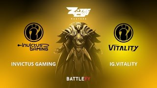 Invictus Gaming vs IG.Vitality, Game 1, Zotac Cup Masters, CN Qualifier