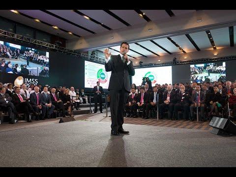 Peña Nieto en la Centésima Séptima Asamblea Ordinaria del Instituto Mexicano del Seguro Social
