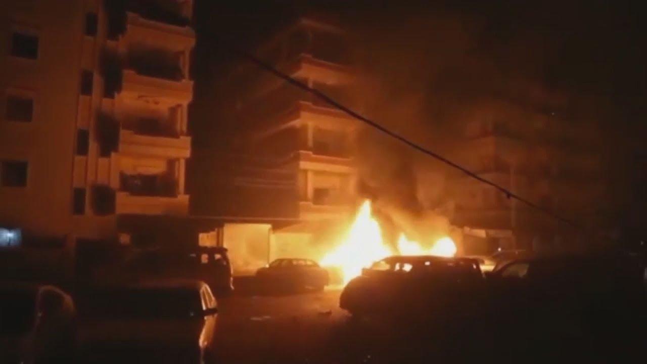 Εικόνες από την συριακή πόλη Αφρίν μετά από βομβαρδισμούς από τις τουρκικές δυνάμεις