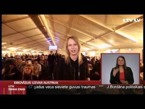 EIROVIZIJA - Eirovīzijas dziesmu konkursa finālā šogad uzvarējusi Austrija -viena no spilgtākajām konkursa dalībniecēm - Končita Vursta. Otrajā vietā skatītāji iebalsoja ...