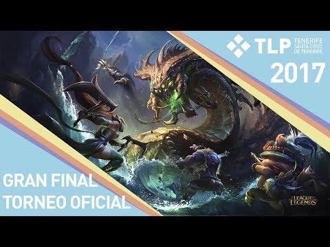 Final Torneo Oficial League Of Legends  - Mayek Club Vs TmT - TLP Tenerife 2017