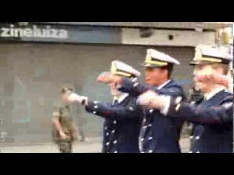 Desfile da EFOMM em Juiz de Fora