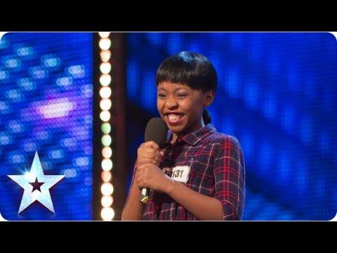 Asanda Jezile the 11yr old diva sings 'Diamonds' - Week 3 Auditions | Britain's Got Talent 2013 (видео)