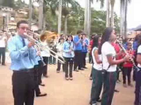 Encontro de bandas em Sem Peixe , Bandão Hino Nacional