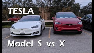Tesla Model S vs Model X - The Differences & Why I Picked Model X