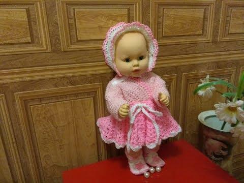 Детская юбка крючком видео