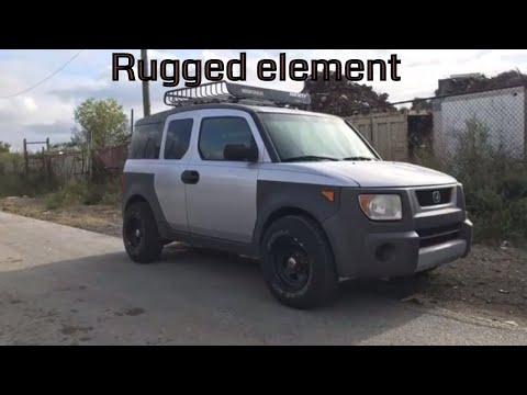 2003 Honda Element. Rugged look
