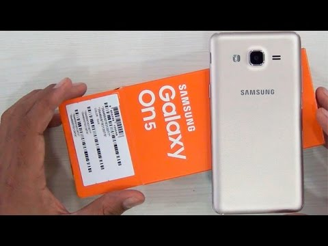 Samsung Galaxy On5 Unboxing And Hands On Review