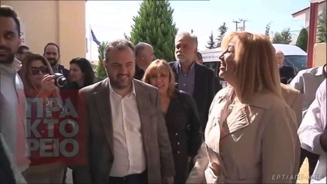 Επίσκεψη Φώφης Γεννηματά στο δήμο Αχαρνών