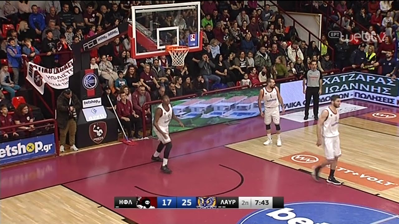 Basket League 2019-2020: ΗΦΑΙΣΤΟΣ – ΛΑΥΡΙΟ | HIGHLIGHTS | 25/01/2020 | ΕΡΤ